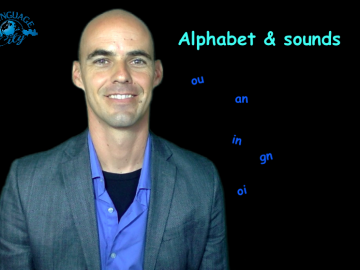 FRENCH LESSON HS : alphabet & French sounds + definite/indefinite articles